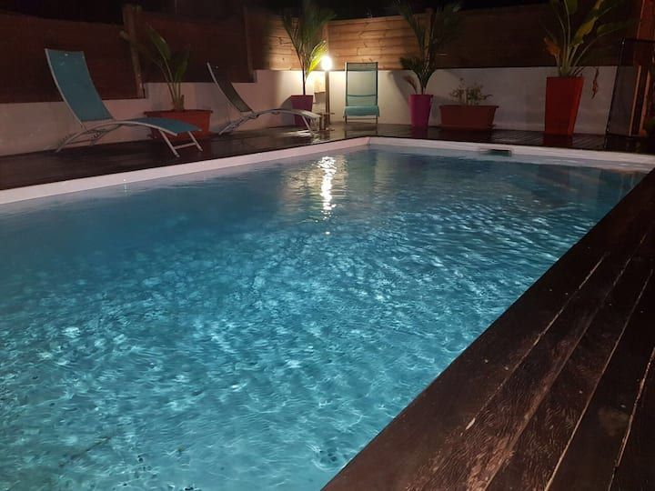 Maison piscine Trois Ilets Martinique