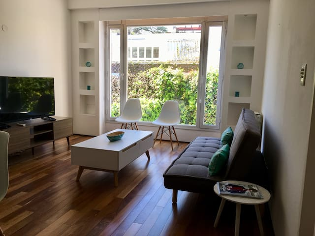 Quiet & lively apt in Palermo Chico for 5 pax
