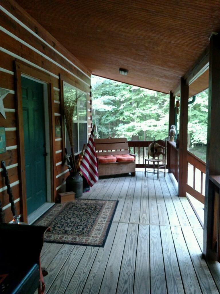 Beau Custom Log Cabin In Clarksville, Tennessee, United States