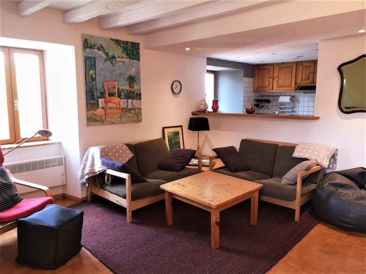 Cozy apartment in the French Pyrenees, near Llivia
