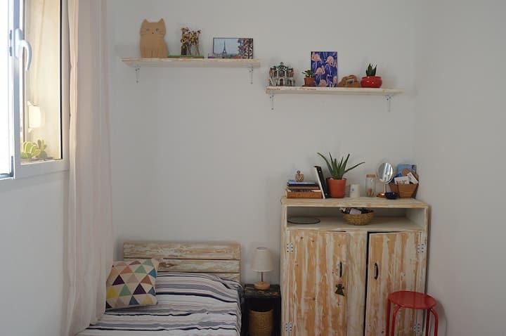 La Goulette - chambre privée dans un appart cosy