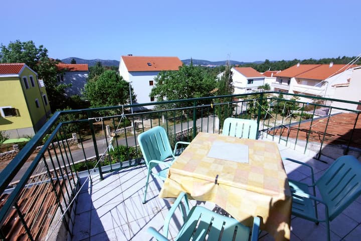 Two bedroom apartment with terrace Biograd na Moru, Biograd (A-368-c)
