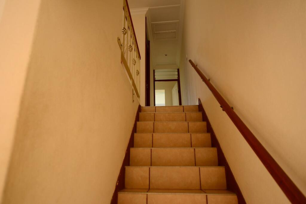 Stairs to Rooms