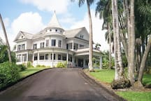 Hilo's historic Shipman House, whose Shipman House Guest Cottage is available on Airbnb.