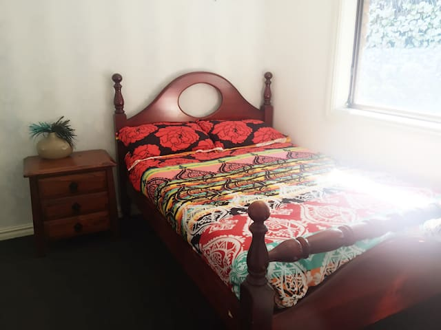A nice bedroom for your relaxed stay