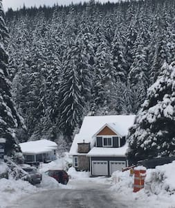 Bunsen Lake Cabin in the woods - Anmore - Hus