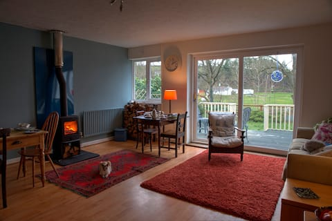 Cenarth home with a view & breakfast  Double room