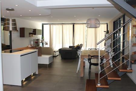Chambre dans Villa contemporaine proche Cannes - Opio - Casa