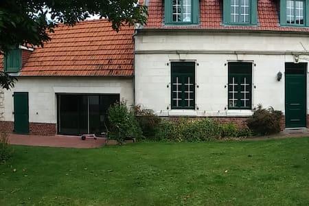 Belle longère avec piscine près du golf d'Arras - Anzin-Saint-Aubin - Huis