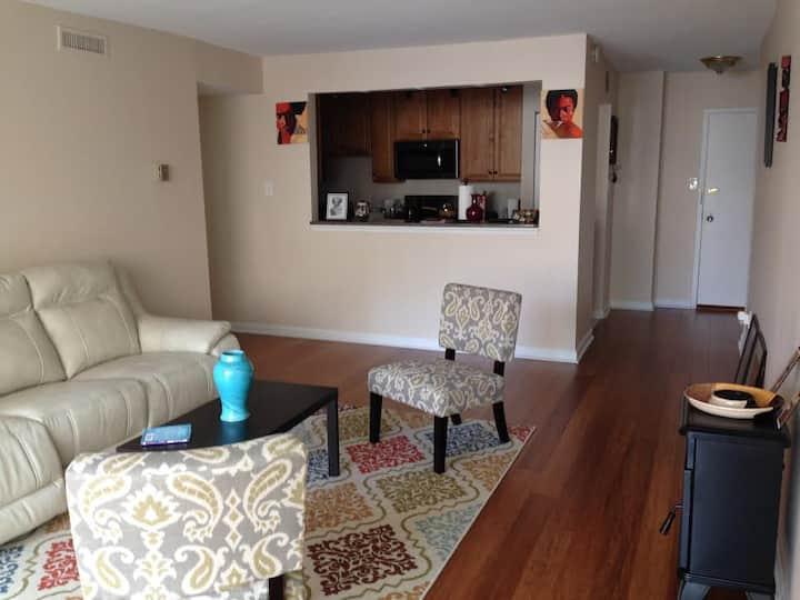 Sara's cozy apartment