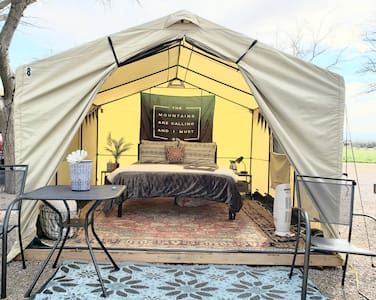 (#7) *GLAMPING EQUALS HAPPINESS!* (w/Heat & AC)
