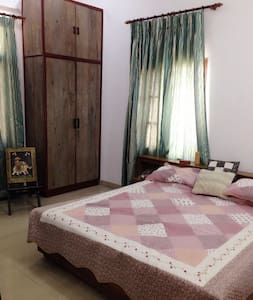 Luxurious apt w peaceful ambience - Bungalow