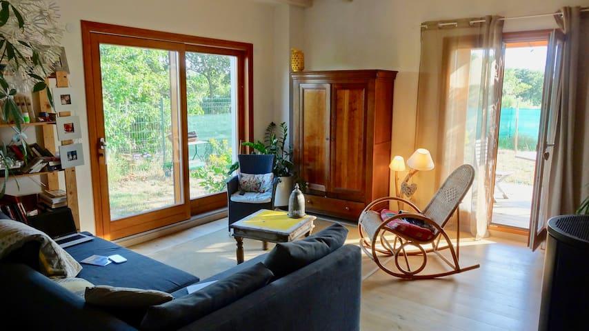 Maison en bois entre Pézenas et Béziers