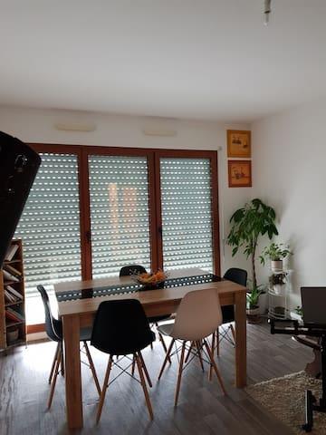 Appartement lumineux au centre ville de Nantes