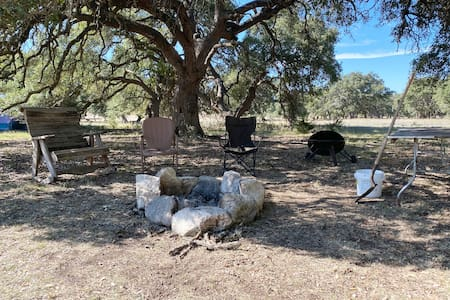 Starlit Flat - a campsite on the 1873 Ranch