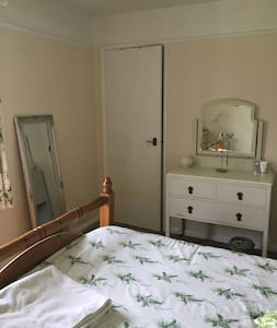 Pretty light and airy double room available