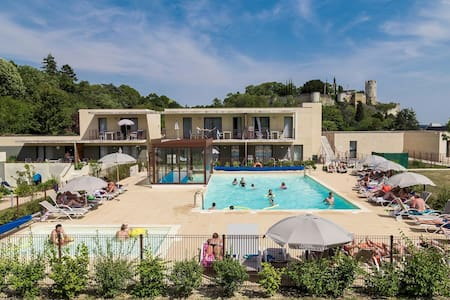 Holiday apartment with 2 bedrooms on 37m² in Chinon