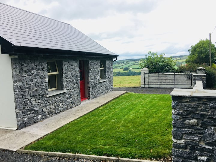 100 year old rural irish cottage
