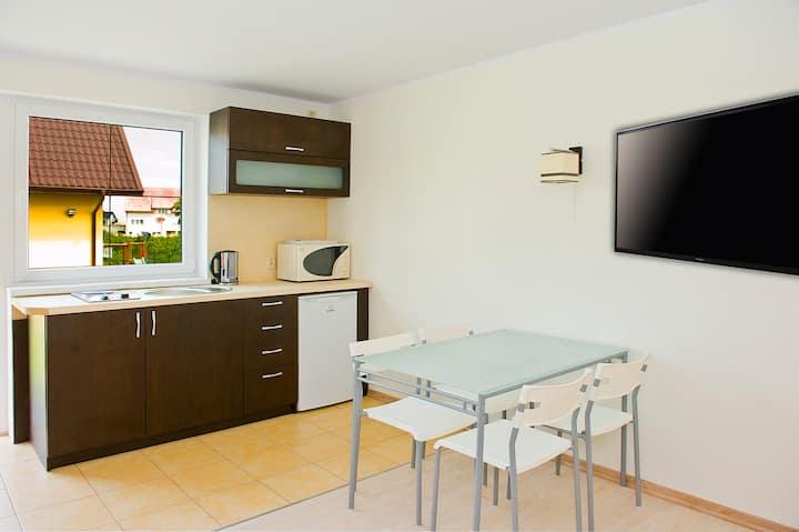 Apartament dwupoziomowy 38m2, AP8
