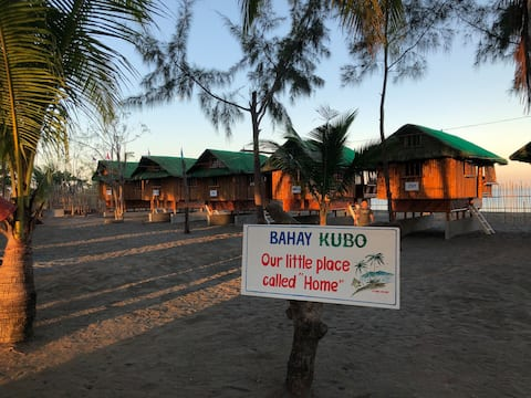 Bahay- Kubo (close to Potipot Island)- Beach Front