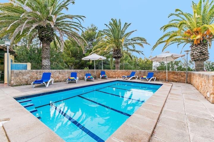 Villa en Betlem con piscina a 300 m del mar - Betlem - Xalet