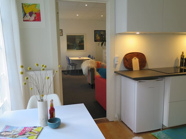 THE STUDIO: Central & quiet home w.garden