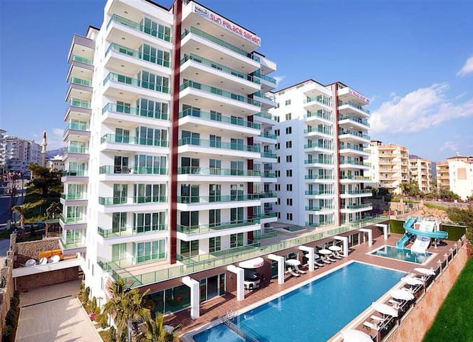 1 + 1 apartments with Swimming pools, SPA, Wi Fi..