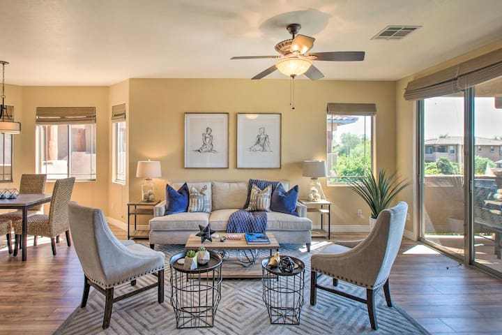 NEW! Resort Condo by TPC Scottsdale+Talking Stick!