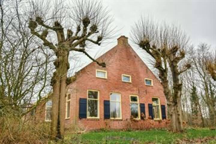 Ruime woonboerderij in Eexterveen