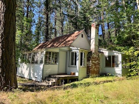 Rustic Cabin on Flathead Lake