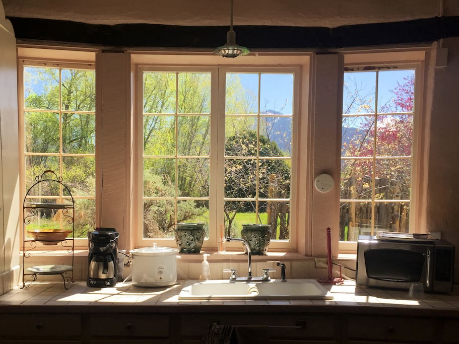 View From the Kitchen Window: You will love waking up to coffee in this kitchen