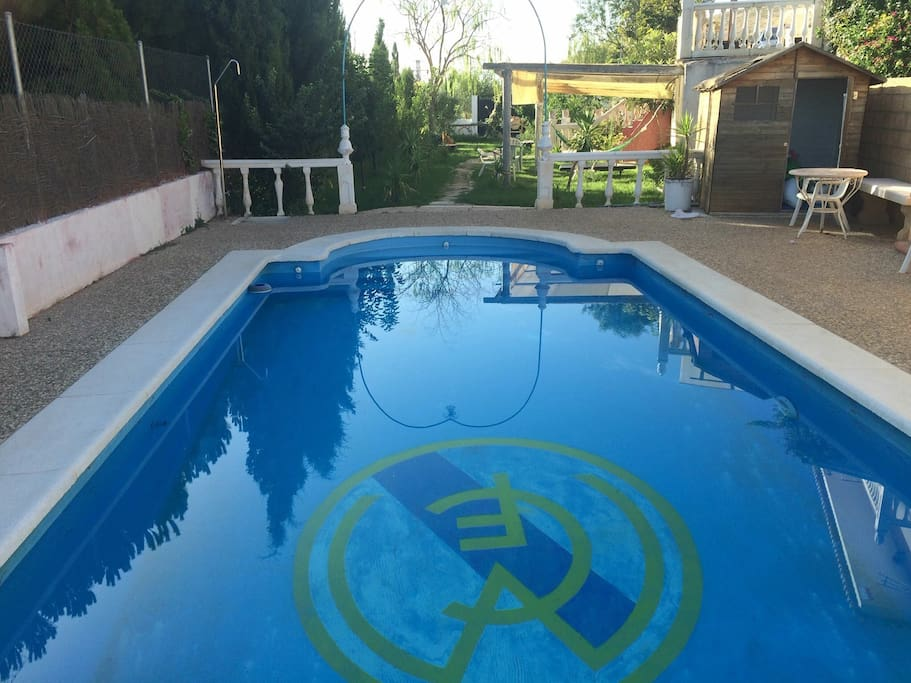 Una piscina cómoda y fresquita para el verano