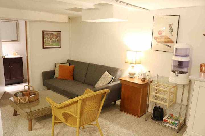 Private One Bedroom Suite with Separate Entry
