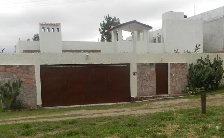 Casa para familias de hasta 8 personas