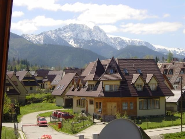 Apartment with view on Tatry - Zakopane