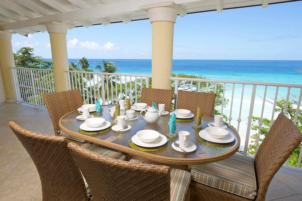 Sapphire Beach 509 - Amazing Outdoor Patio Dining