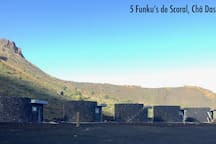 The 5 Funkus of Scoral (name of the small village part of Portale in the crater).