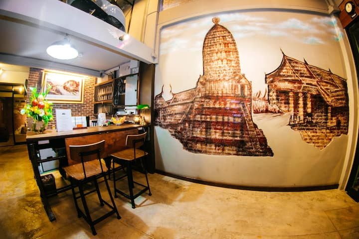 The 8 Factory Hostel @ Phitsanulok Ancient City