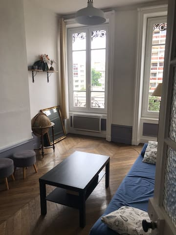 Appartement cosy à proximité du parc tête d'or