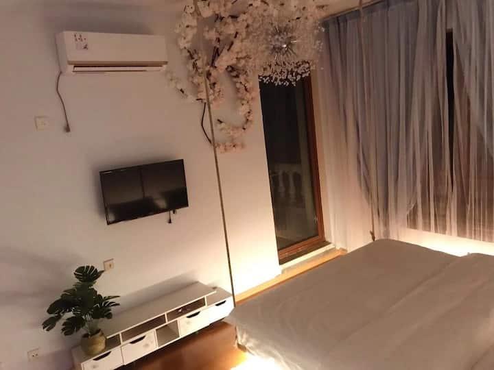 独栋别墅,网红吊床房,邀请你的体验