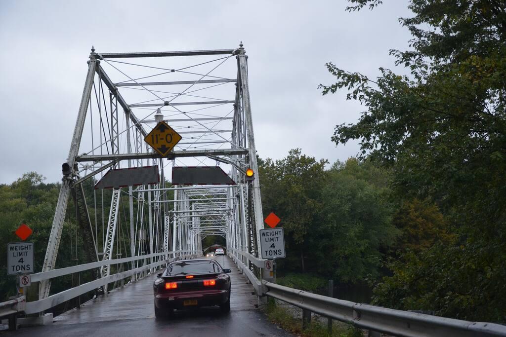 Iron Bridge on delaware river