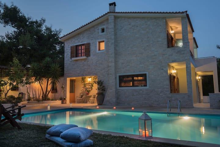 Villa Corina near Athens airport.