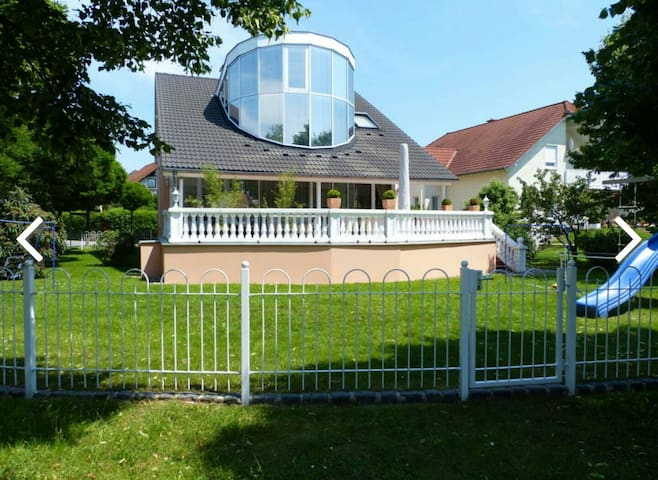 Appartement in schicker Villa am Golfplatz Dresden - Radeberg OT Ullersdorf - Villa