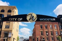 Condo is conveniently located for quick and easy access to downtown Wooster and the north end.
