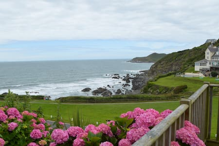 Spacious Room Along The Beach - Woolacombe - Lejlighed