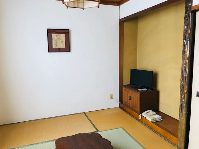 A Japanese Styled Room in a Cultural City