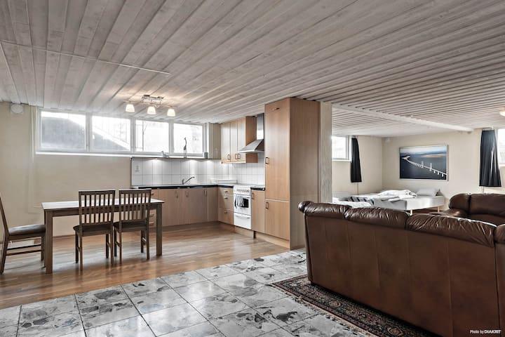 Ljus och fräsch lägenhet i Åhus