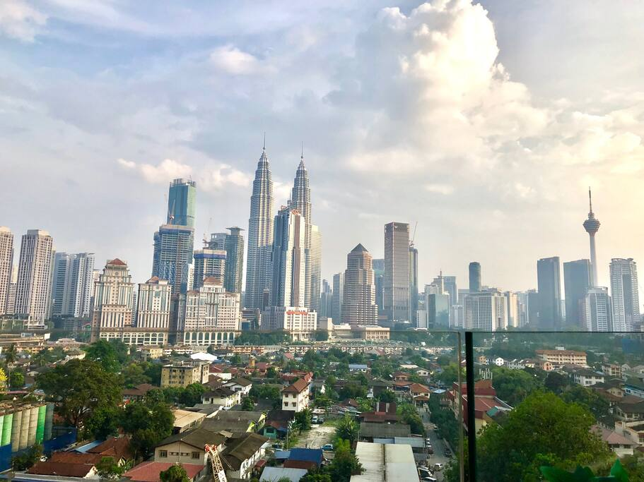 Awesome KL City panoramic view(Day Time)