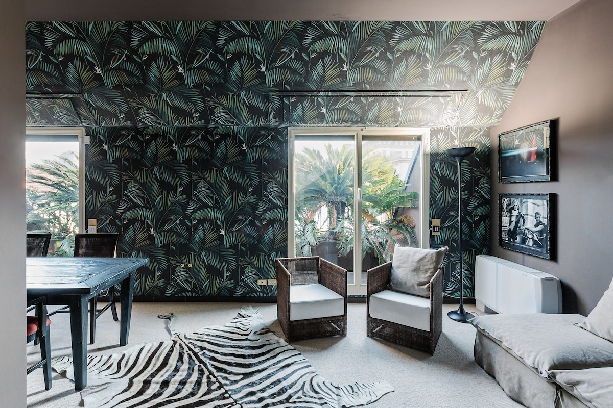 Tropical flat in Brera Apartments