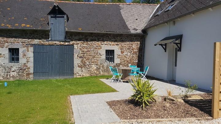 La maison de Gabrielle : au vert près de la mer
